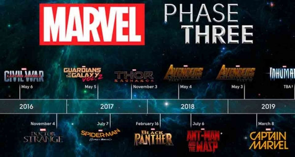Upcoming Marvel Movies 2018 Image