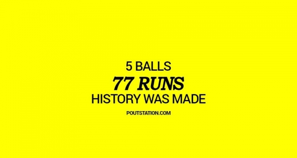 This bowler gave 77 runs in 5 balls Image