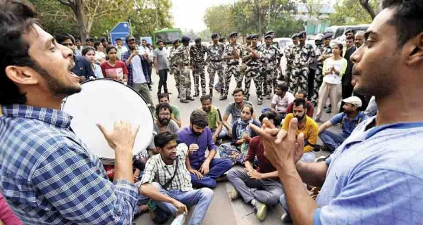 JNU's Student Stand against the 75% Attendance Rule Image