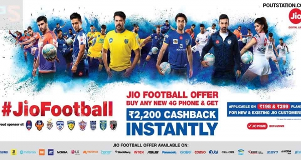 New Jio Football Offer 2018 - Get 4G phone for Rs. 699 only Image