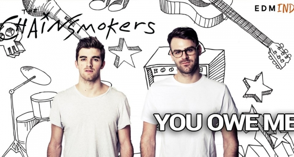 The Chainsmokers - You Owe Me [Official Lyric video] Image