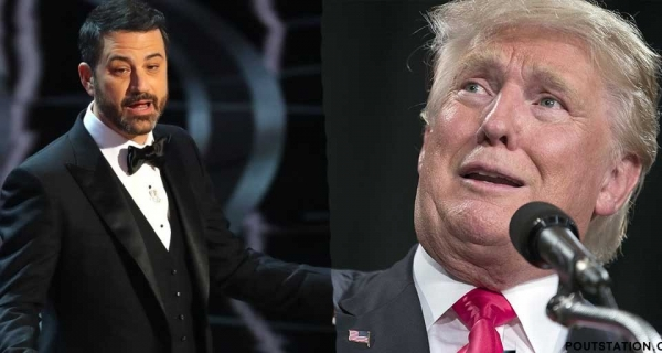 US President Donald Trump trolled by Jimmy Kimmel on Twitter Image