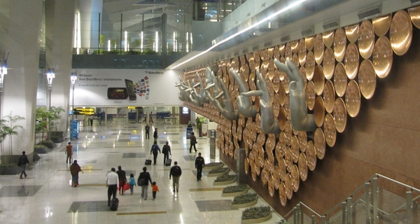 Delhi Indira Gandhi International Airport is Worlds Number One Airport Image