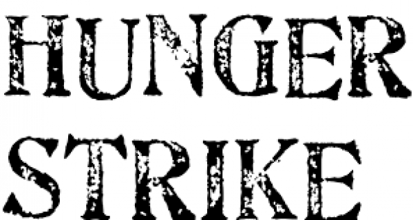 Anna Hazare goes on hunger strike. Image