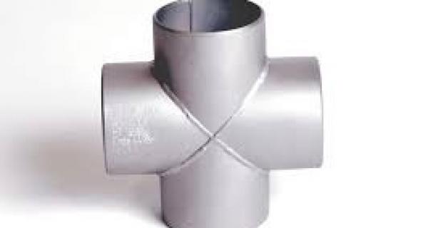 Butt-Welded Pipe Fitting Cross Image