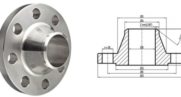Stainless Steel Weld Neck Flanges manufacturer in India Image