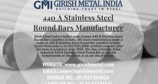 Types of 440 Stainless Steel Round Bar Image
