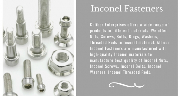 Types of Inconel Fasteners Image