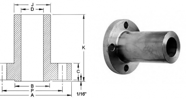 Long Weld Neck Flanges Applications And Uses Image