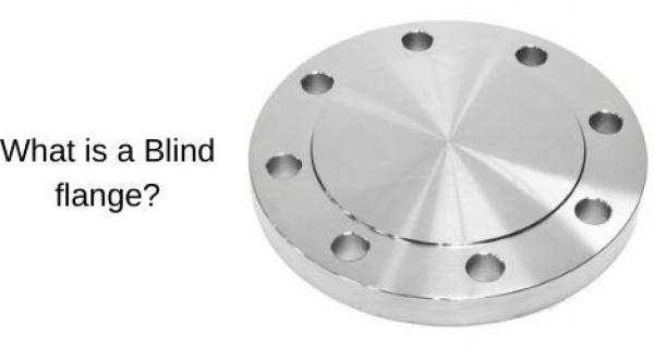 What is a Blind flange? Image